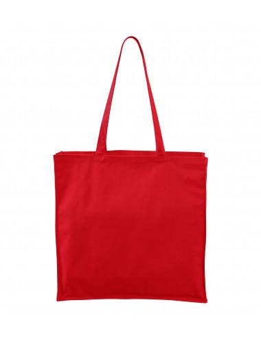 2Adler MALFINI Torba na zakupy unisex Carry 901 czerwony