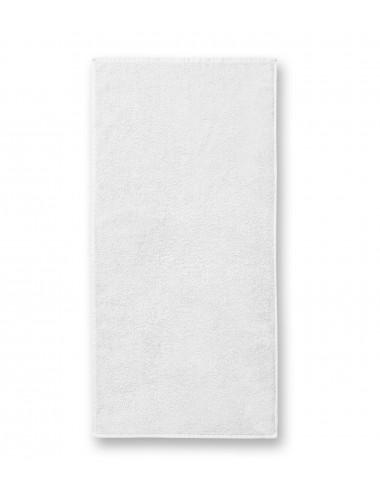 2Adler MALFINI Ręcznik duży unisex Terry Bath Towel 909 biały