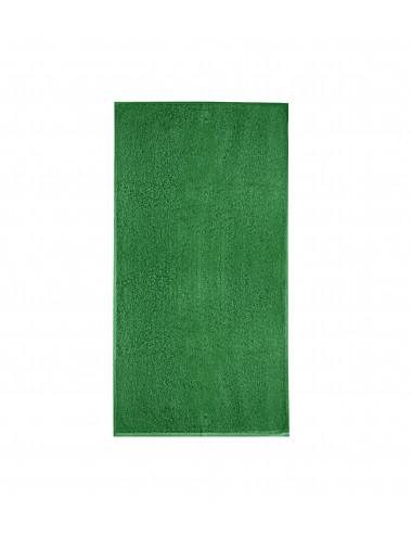 2Adler MALFINI Ręcznik duży unisex Terry Bath Towel 909 zieleń trawy