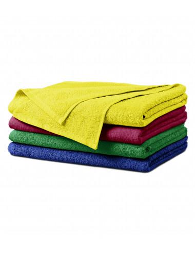 2Adler MALFINI Ręcznik duży unisex Terry Bath Towel 909 marlboro czerwony