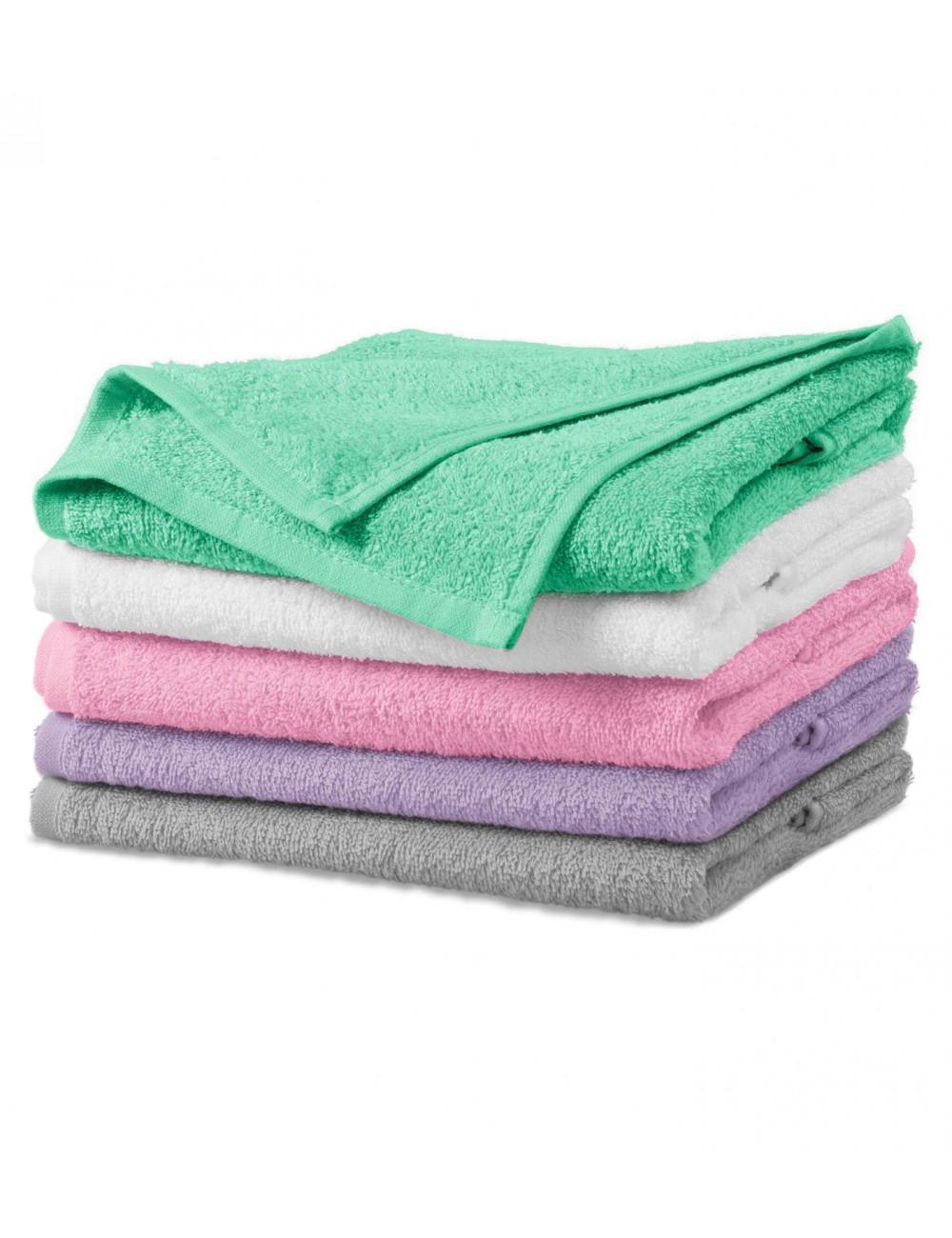 Adler MALFINI Ręcznik duży unisex Terry Bath Towel 909 jasnoszary