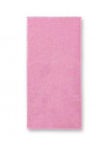 2Adler MALFINI Ręcznik duży unisex Terry Bath Towel 909 różowy