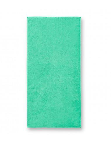 2Adler MALFINI Ręcznik duży unisex Terry Bath Towel 909 miętowy