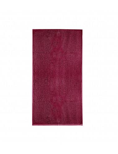 2Adler MALFINI Ręcznik unisex Terry Towel 908 marlboro czerwony