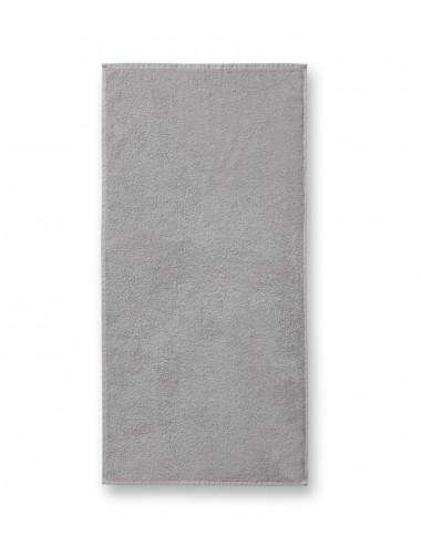 2Adler MALFINI Ręcznik unisex Terry Towel 908 jasnoszary