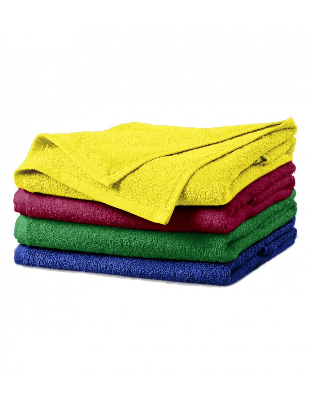 Adler MALFINI Ręcznik unisex Terry Towel 908 cytrynowy
