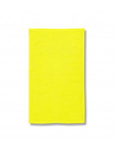 2Adler MALFINI Ręcznik unisex Terry Towel 908 cytrynowy
