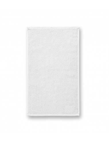 2Adler MALFINI Ręcznik mały unisex Terry Hand Towel 907 biały