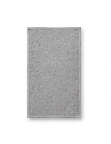 2Adler MALFINI Ręcznik mały unisex Terry Hand Towel 907 jasnoszary
