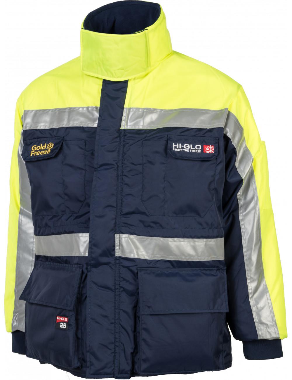 Kurtka do mroźni lub chłodni Hi-Glo 25 Coldstore Jacket OCHRONA DO -64,2°C