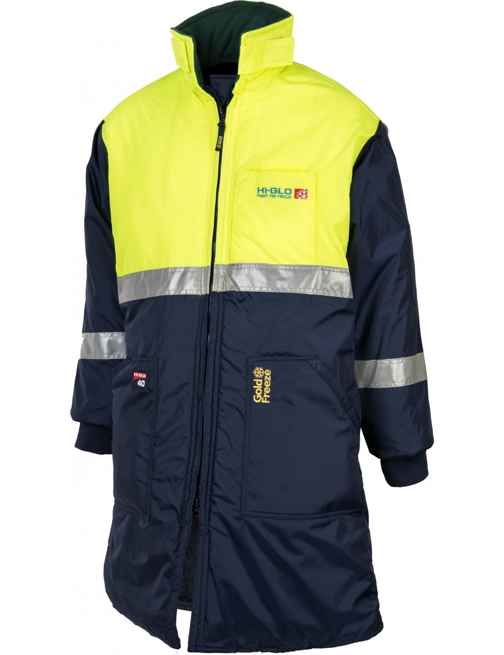 Kurtka długa Freezer Long Coat do mroźni i chłodni Hi-Glo 40, ochrona do -83,3