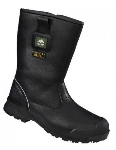 2Wysokie buty Rockfall Manitoba, idealne do pracy w mroźni lub chłodni. Ochrona do -40 stopni. Od Goldfreeze.
