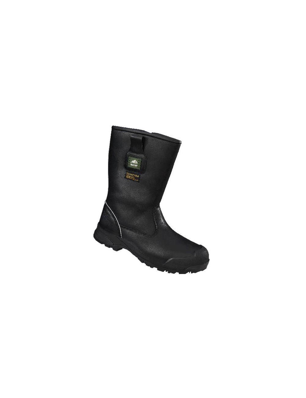 Wysokie buty Rockfall Manitoba, idealne do pracy w mroźni lub chłodni. Ochrona do -40 stopni. Od Goldfreeze.