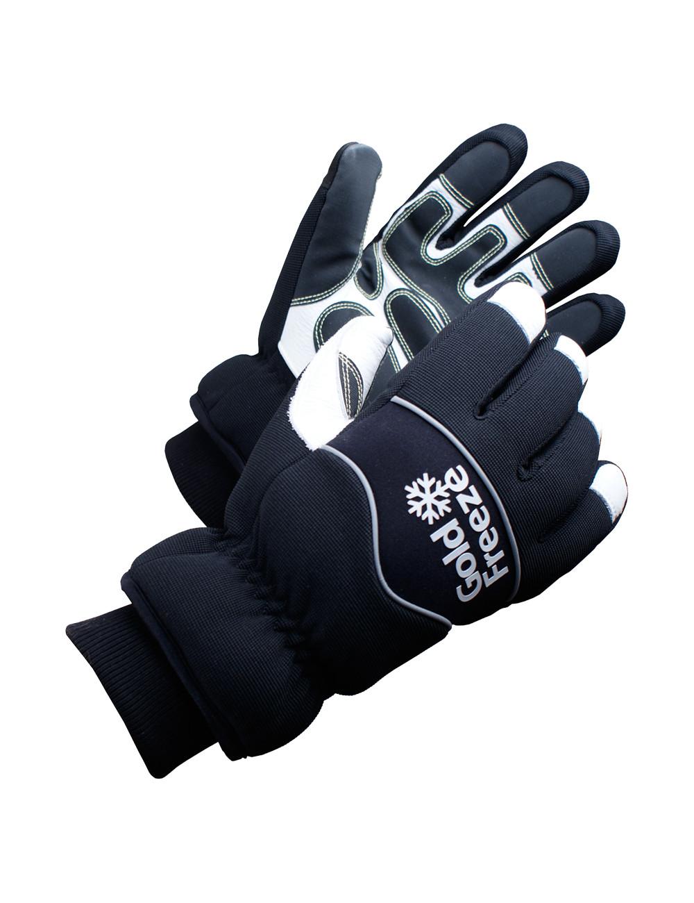 Rękawice do mroźni ze skóry, Eisbaer Goldfreeze, do -40 stopni