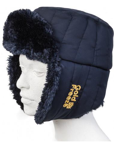 Czapka Alaskan Hood ochrona głowy mroźnia chłodnia, Goldfreeze