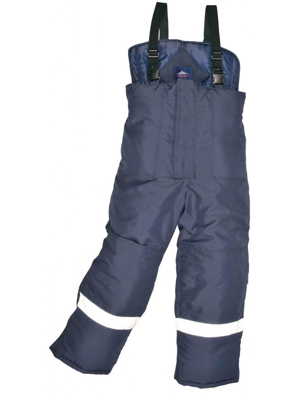 Spodnie ogrodniczki COLDSTORE CS-11idealne do pracy w mroźniach lub chłodniach. Ochrona do -40 st.C!