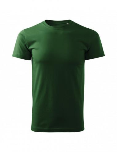 2Adler MALFINI Koszulka męska Basic Free F29 zieleń butelkowa