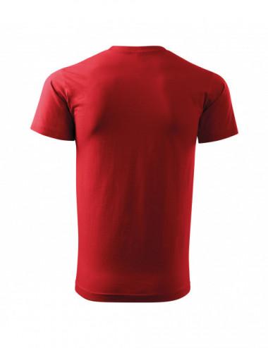 2Adler MALFINI Koszulka męska Basic Free F29 czerwony