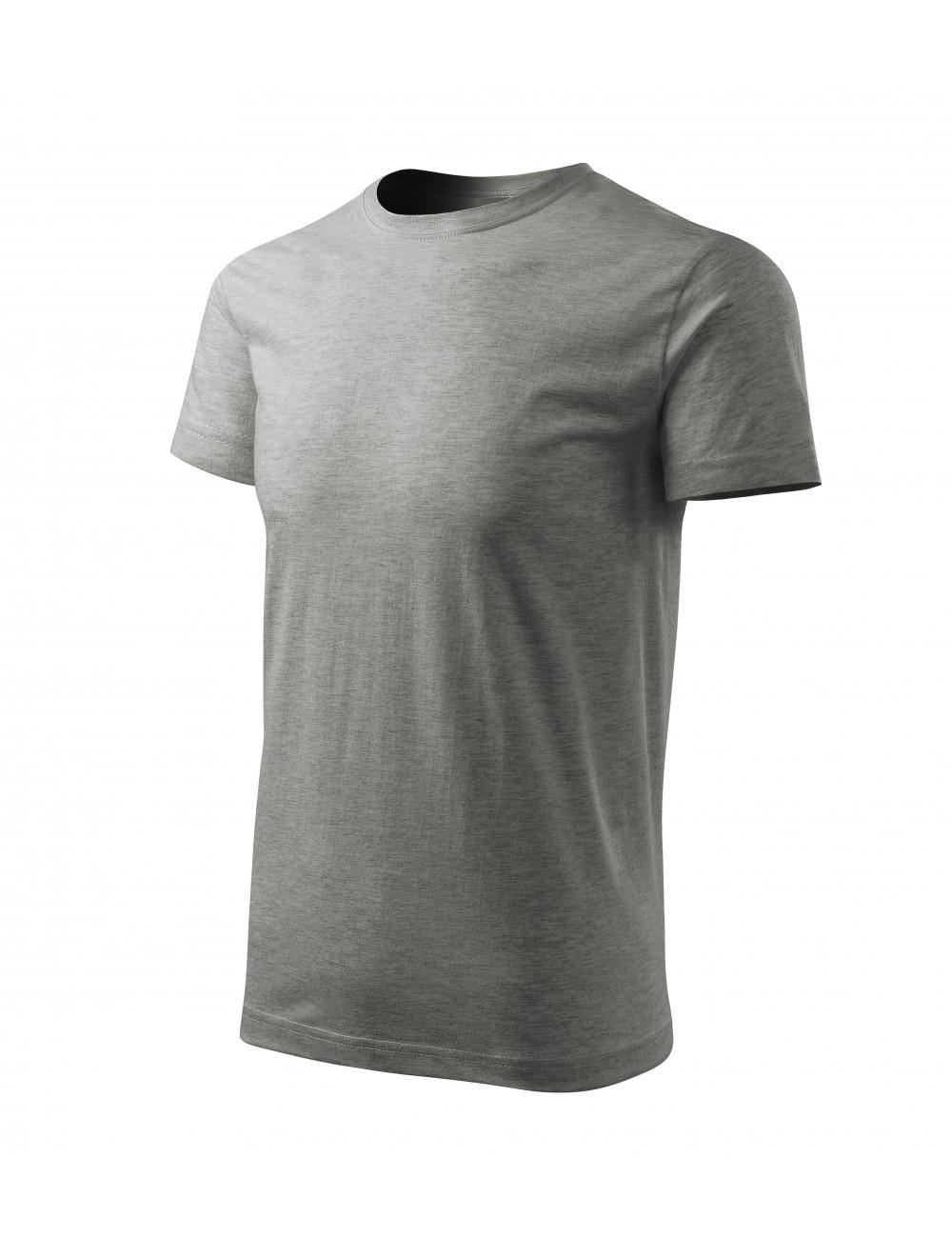 Adler MALFINI Koszulka męska Basic Free F29 ciemnoszary melanż