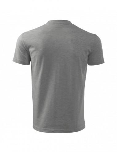 2Adler MALFINI Koszulka męska Basic Free F29 ciemnoszary melanż