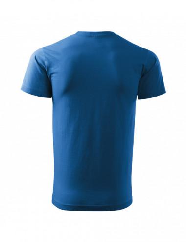 2Adler MALFINI Koszulka męska Basic Free F29 lazurowy