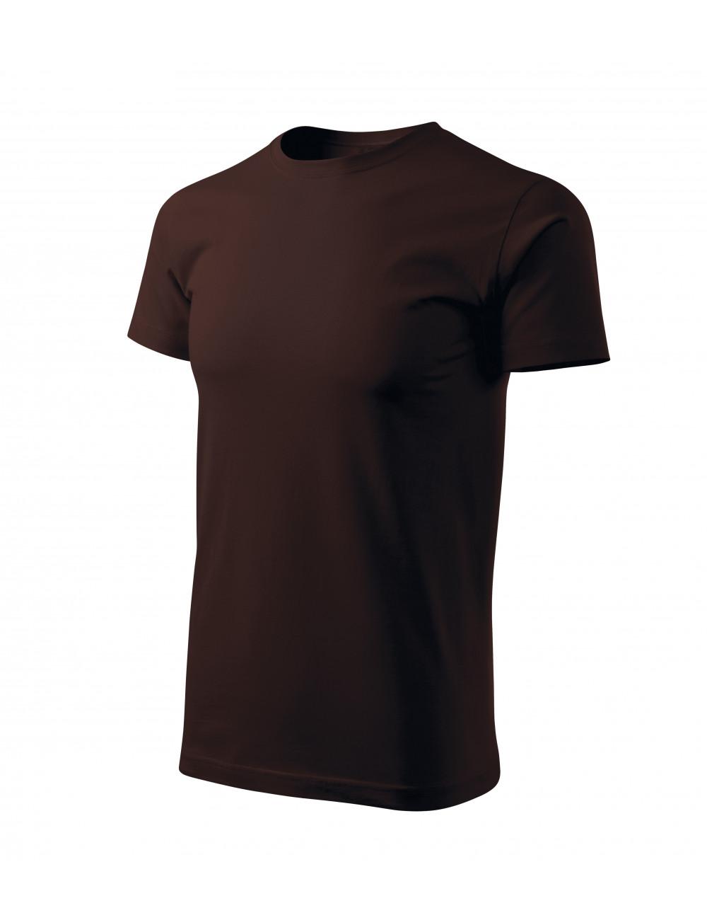Adler MALFINI Koszulka męska Basic Free F29 kawowy
