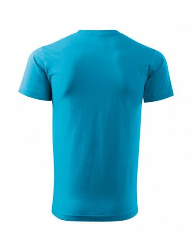 2Adler MALFINI Koszulka męska Basic Free F29 turkus