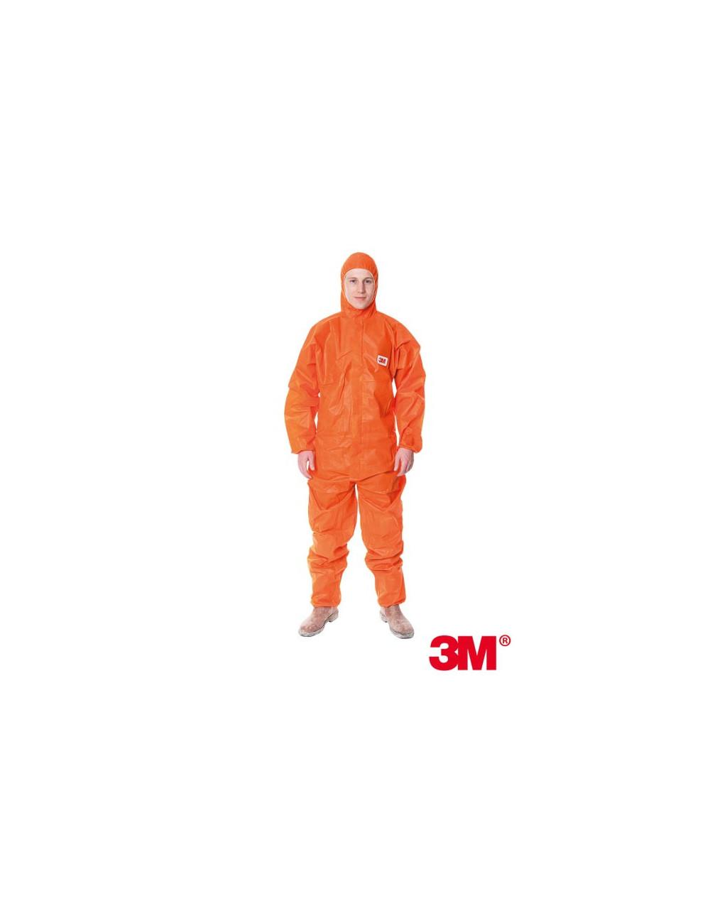 3M KOMBINEZON OCHRONNY 3M-KOM-4515 P POMARAŃCZOWY