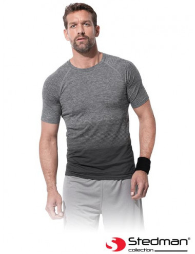STEDMAN T-SHIRT MĘSKI ST8810 LGT LIGHT GREY