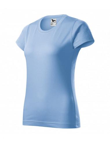 2Adler MALFINI Koszulka damska Basic 134 błękitny