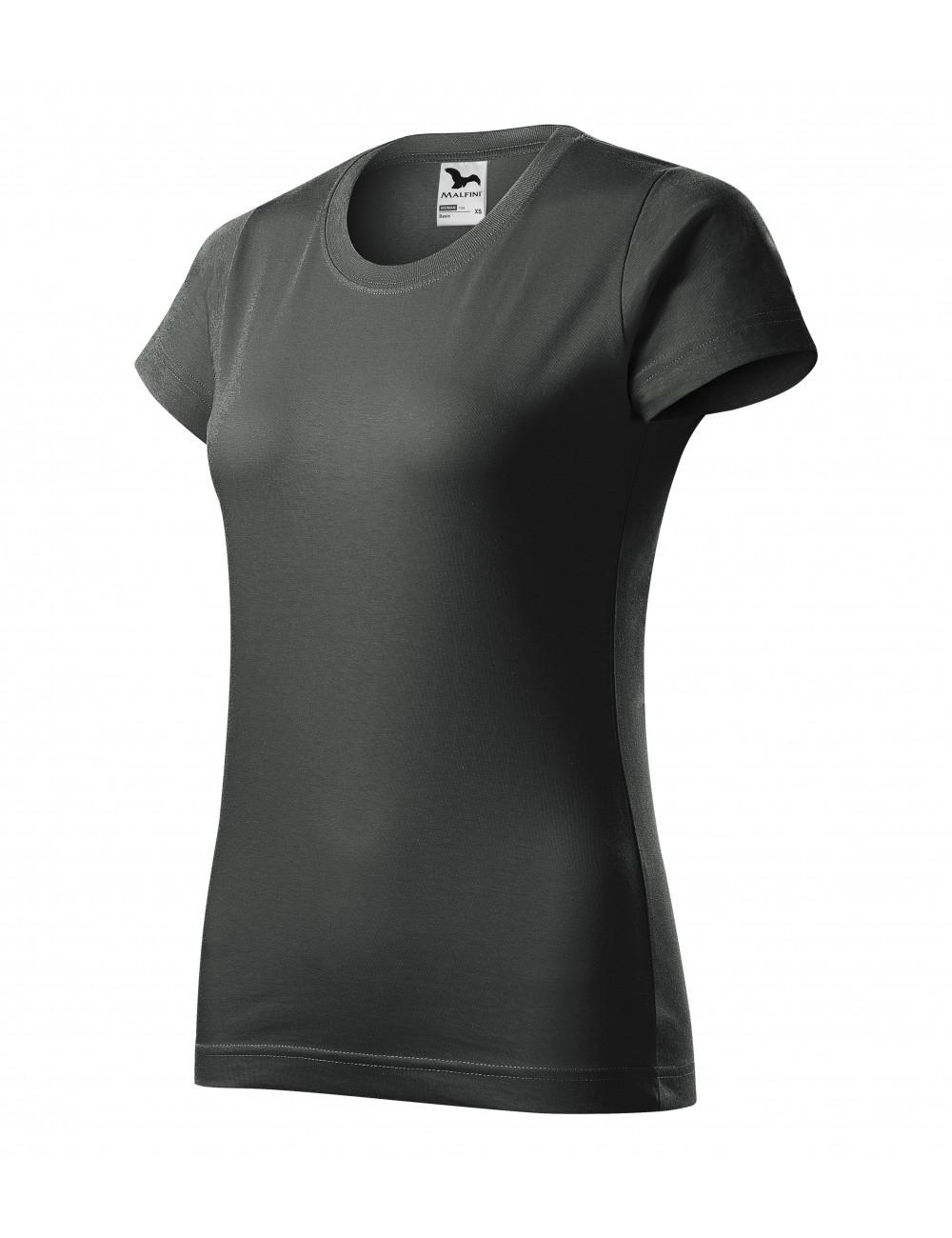 Adler MALFINI Koszulka damska Basic 134 ciemny khaki