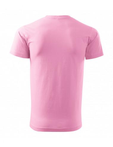 2Adler MALFINI Koszulka męska Basic 129 różowy