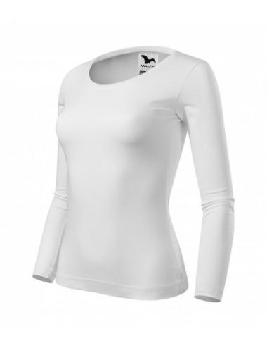 Adler MALFINI Koszulka damska Fit-T LS 169 biały