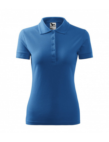 2Adler MALFINI Koszulka polo damska Pique Polo 210 lazurowy