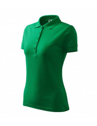 2Adler MALFINI Koszulka polo damska Pique Polo 210 zieleń trawy