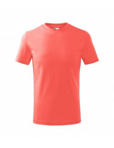 2Adler MALFINI Koszulka dziecięca Basic 138 coral