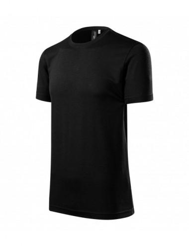Adler MALFINIPREMIUM Koszulka męska Merino Rise 157 czarny