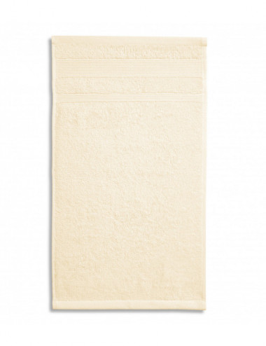 2Adler MALFINI Ręcznik mały unisex Organic 916 migdałowy