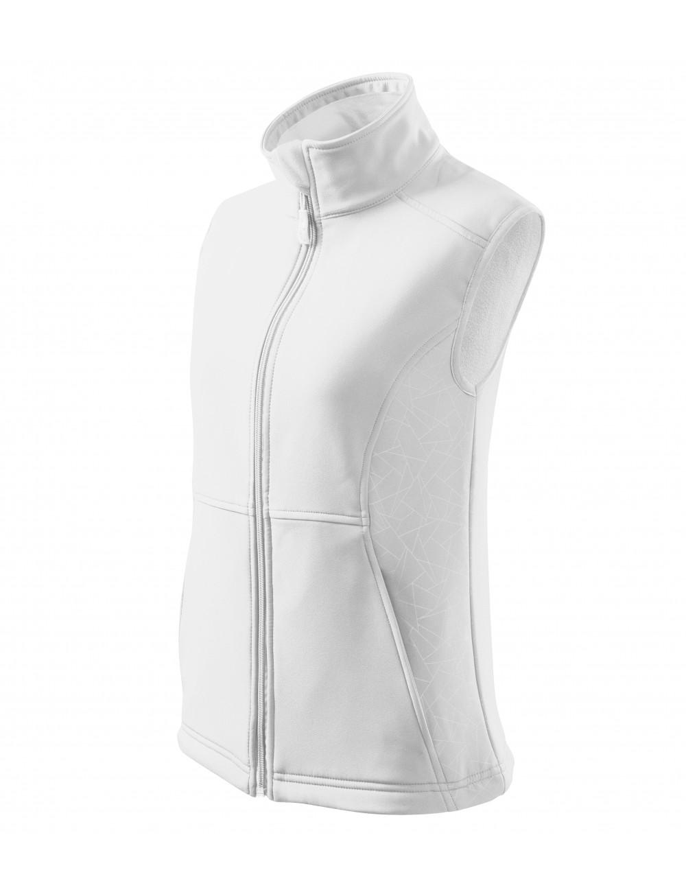 Adler MALFINI Softshell kamizelka damska Vision 516 biały