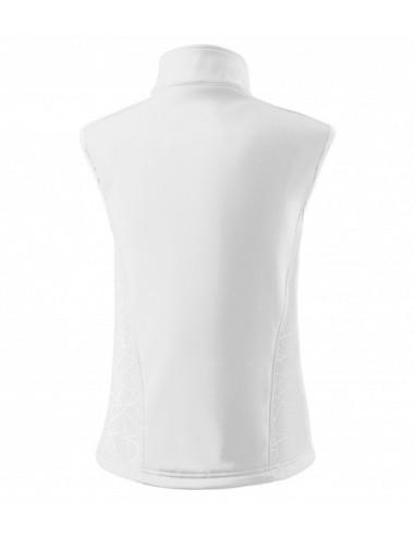 2Adler MALFINI Softshell kamizelka damska Vision 516 biały