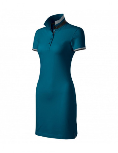 Adler MALFINIPREMIUM Sukienka damskie Dress up 271 petrol blue