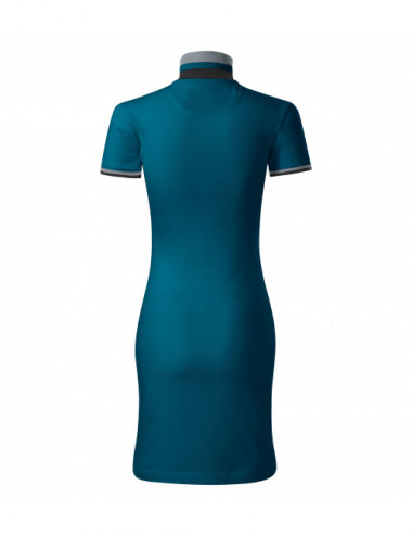 2Adler MALFINIPREMIUM Sukienka damskie Dress up 271 petrol blue