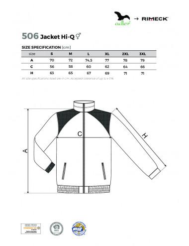 2Adler RIMECK Polar unisex Jacket Hi-Q 506 zieleń butelkowa