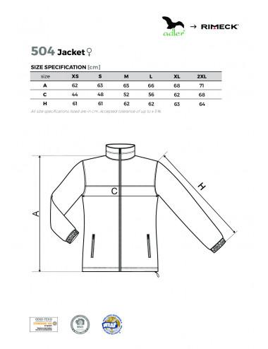 2Adler RIMECK Polar damski Jacket 504 ebony gray