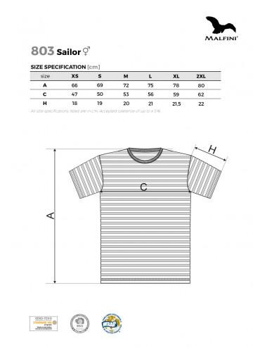 2Adler MALFINI Koszulka unisex Sailor 803 granatowy
