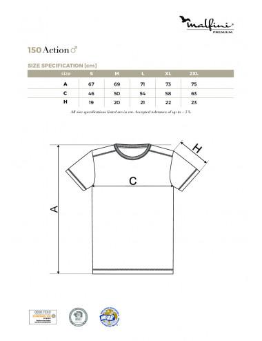 2Adler MALFINIPREMIUM Koszulka męska Action 150 bourbon vanilla