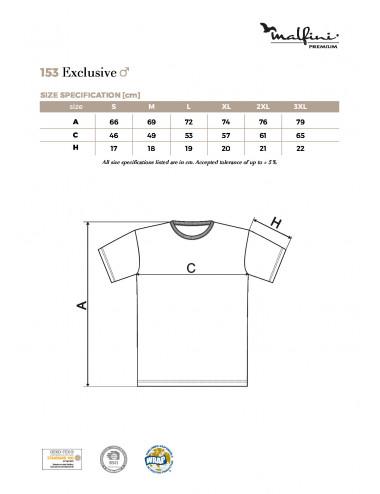 2Adler MALFINIPREMIUM Koszulka męska Exclusive 153 biały