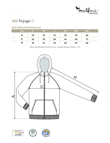 2Adler MALFINIPREMIUM Bluza męska Voyage 452 czarny