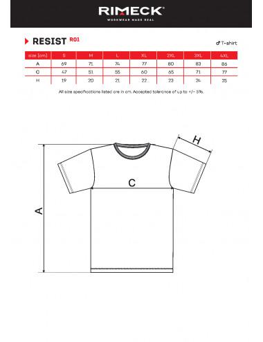 2Adler RIMECK Koszulka męska Resist R01 czerwony