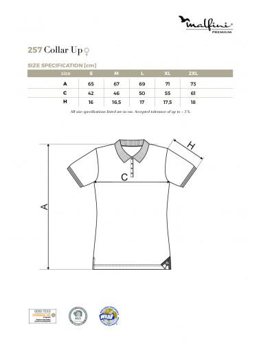 2Adler MALFINIPREMIUM Koszulka polo damska Collar Up 257 bourbon vanilla